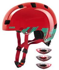 Uvex Kid 3 casco Skate/bmx infantil talla Xxs/s(51-55cm) color rojo 2443-n