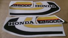 Autocollants / Stickers / Decals Honda XL500S - XLS 500 (78)