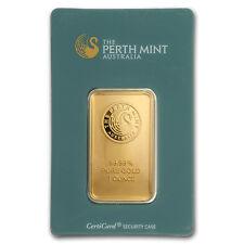 1 oz Gold Bar - Perth Mint (Classic Assay) - SKU#166448