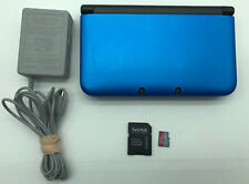 Nintendo 3DS XL Blue/Black Console SPR-001 With Charger/32GB Card Tested *READ*