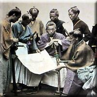 Samurai Sword Man Photo Book - Felice Felix F. Beato 2 Antique Camera Albuman