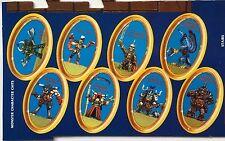 Fuera de imprenta advanced heroquest completo conjunto de 6 muñecos de carácter brotes de patata cardada Azul