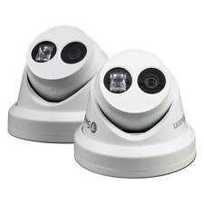 Swann NHD-881 4K CCTV Dome Cameras With EXIR LED IR Night Vision - Twin Pack