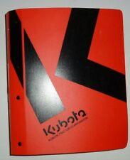 Kubota RTV-X1100C UTV Utility Vehicle Service Shop Repair Workshop Manual OEM!