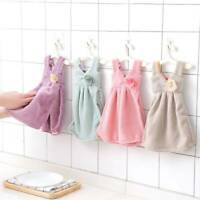 Soft Absorbent Skirt Towels Kitchen Bathroom Hanging Wipe Hand Towels Baby Wipe