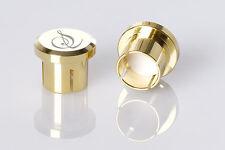4 x Sieveking sonido RCA cinch caps remate tapas shutz de corrosión polvo EMI