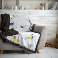 Teddy Dachshund Sofa Throw Matching cushion cover only or with inner Kids living