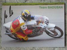 Autogrammkarte Uwe Wetzko Rennfahrer DDR Deutschland Motorsport Team Badusan