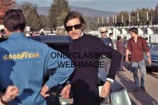 '70 COOL JO SIFFERT IN PITS 8X12 PHOTO CANADIAN GRAND PRIX FORMULA 1 AUTO RACING