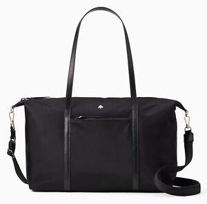 Kate Spade Weekender Bag Jae Black New $349
