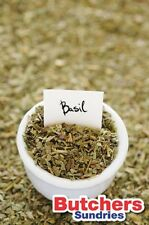 250g of Rubbed Dried Basil / Herbs / Spices / Seasoning /  Butchers-Sundries