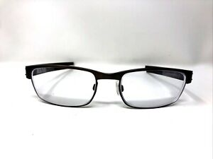 OAKLEY Eyeglasses Frames OX5038-0655 METAL PLATE 55-18-140 Brushed Chrome M133
