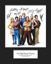 THE BIG BANG THEORY #1 10x8 Mounted Signed Photo Print (Reprint) - FREE DELIVERY