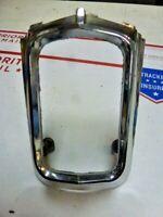1962 Chrysler Lower Taillight Moulding Chrome Bezel ! ! !