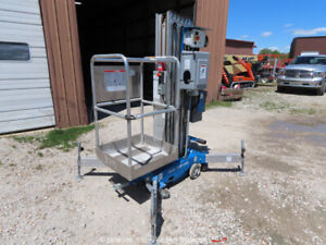 2016 Genie AWP-30SDC 30' Electric Vertical Mast Lift Personnel Man bidadoo
