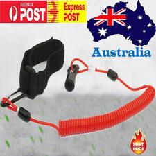 AU Bodyboard Coiled Wrist Leash Boogie Board bicep Rod leash Strap Extended 1.3m