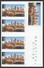 2018 Beautiful Cities: Melbourne (MUH) - Unfolded self-adhesive booklet