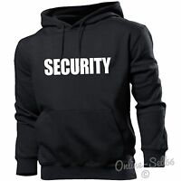 Security Hoodie Hoody Men Women Kids Funny Fancy Dress Gift Present