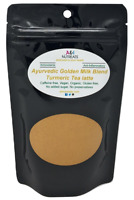 Ayurvedic Organic Golden Milk blend with Turmeric, Ceylon Cinnamon, Ginger and B