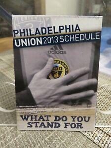 PHILADELPHIA UNION 2013 SOCCER POCKET SCHEDULE