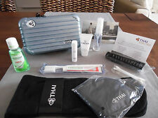 THAI AIRWAYS First Class RIMOWA Amenity Kit BLUE Neceser Trousse Kulturbeutel