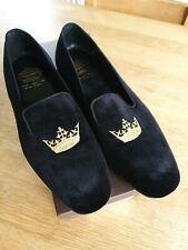 Church's Shoes BNWT Sovereign Velvet Slip On Slippers 7 1/2
