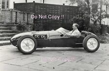 Colin Chapman Lotus 12 Launch Hornsey 1956 Photograph
