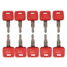 10pc John Deere & Hitachi H800 excavator key fit case dozer fiat new holland