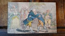 1804 CARICATURE THE RECONCILIATION  - JAMES GILLRAY - SW FORES CHARLES WILLIAMS