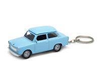 trabant 601 Schlüsselanhänger Trabbi Maßstab 1:60 Metall ' ORIGINAL-Farben WELLY