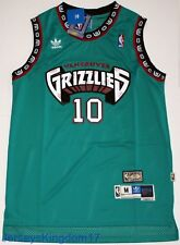 Hardwood Throwback Jersey MIKE BIBBY 10 Vancouver Grizzlies Teal Mens NWT 6dc0e3757