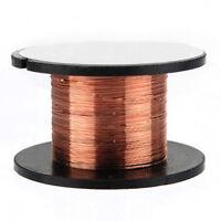 15m 0.1mm cuivre a souder soudure emaille bobine de fil Rouleau Connexion  WT