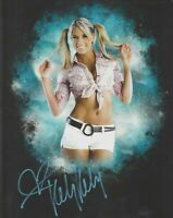 KELLY KELLY WWE WWF Diva Autographed Signed 8x10 Photo REPRINT