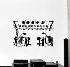 Wall Decal Cinema Movie Theatre Film Filming Vinyl Stickers Mural Art (010ig)