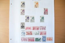 """LOT TIMBRES DES COLONIES """" AF. OCCIDENTALE """" / PAGES CHARNIÈRES  70 TIMBRES !!"""