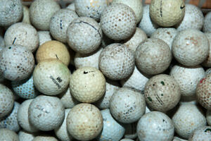 500 Practice Grade Cracked Golf Balls # Clearance SALE #