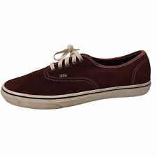 Vans Off The Wall Mens Sneaker Shoe sz 12 Lace Up Red TB6Q Burgundy