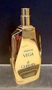 """VINTAGE GUERLAIN VEGA"""" 1 FL OZ.30ML PERFUME GOLD BOTTLE ORIGINALLY CREATED 1936"""