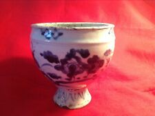 Chinese Antique Early Qing Dynasty B/W Porcelain Vase / Urn