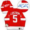 Nicklas Lidstrom Detroit Red Wings Autographed Fanatics Vintage Hockey Jersey