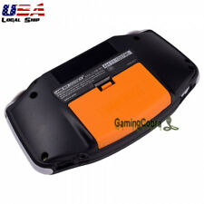 Orange Battery Door Cover Replacement Mods for Nintendo Game Boy Advance GBA