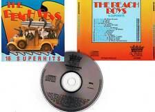 """THE BEACH BOYS """"16 Superhits"""" (CD) Surfin' USA,California Girls..."""