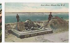 USA, Sand Artist, Atlantic City N.J. 1908  Postcard, A557