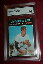 TOM MURPHY -- 1971 TOPPS -- #401 -- GRADED GMA  6.5