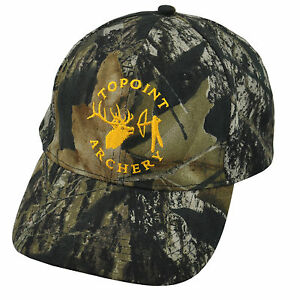 TOPOINT HUNTING ADJUSTABLE CAMO HAT CAP FOR HUNTING AND ARCHERY