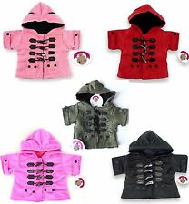 Teddy Bear Clothes fits Build a Bear Teddies Duffel Coat Jacket Bears Clothing