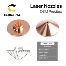 Fiber Laser Nozzle Single Layer Dia.28mm M11 Hight 15mm for Laser Cutting Head