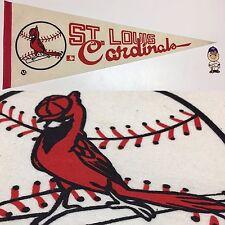1969 Vintage St Saint Louis Cardinals Baseball Mlb 12x30 Pennant Banner