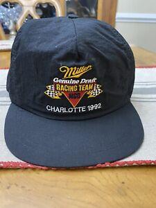 Vintage Miller Geniune Draft Racing Charlotte 1992