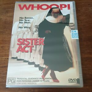Sister Act DVD R4 Sealed brand New! FREE POST
